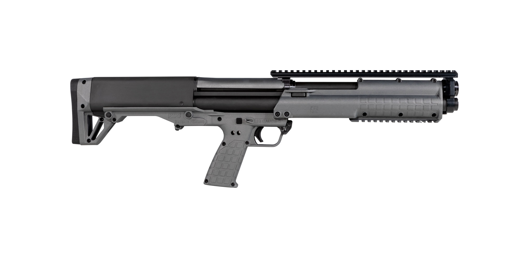 Kel-Tec KSG Tactical Gray Pump Action 12GA