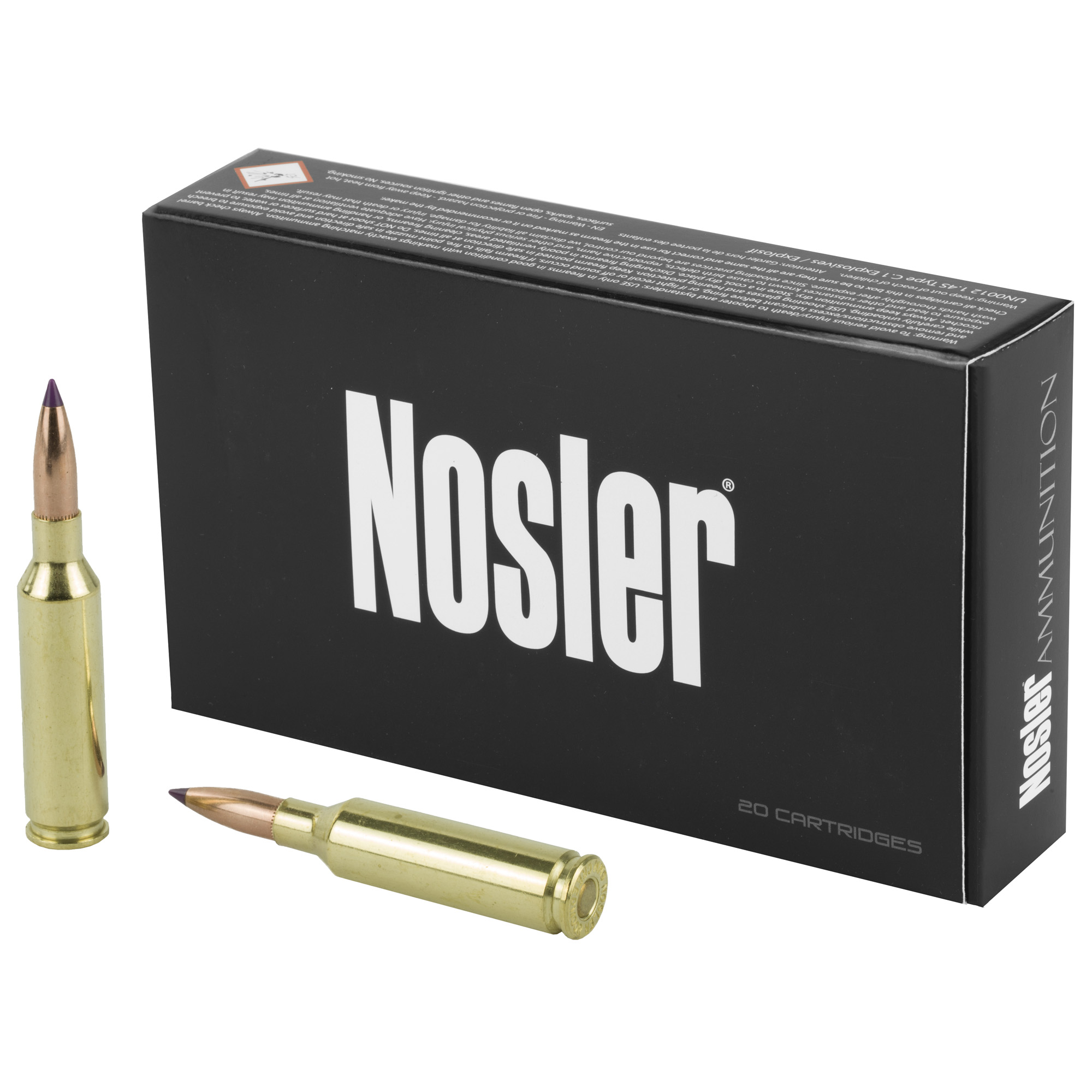 Nosler 6mm Creed 95gr Bt 20/200