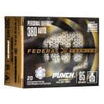 Fed Pd Punch 380auto 85gr Jhp 20/200