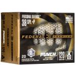 Fed Punch 38 Spl 120gr Jhp 20/200