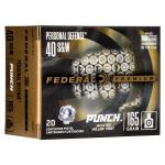 Fed Punch 40 S&w 165gr Jhp 20/200