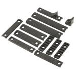Kac Urx 3/3.1 Dlx Rail Panel Kit Blk
