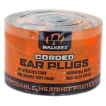 Walker's Foam Ear Crded Plugs 50pk