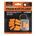 Walker's Foam Ear Plugs 5pk Blister