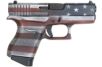 Glock 43 9mm PST 6rnd FS CK Battleworn USA Flag