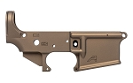 Aero Precision AR15 Stripped Lower Receiver, Gen2 - Burnt Bronze Cerakote
