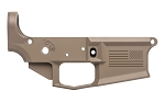 Aero Precision AR15 Stripped Lower Receiver, Special Edition Freedom - FDE Cerakote
