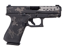 GLOCK 19 GEN 5 USA 9MM SEMI-AUTO 15R GNS 1776 BLACK & GREY CAMO CERAKOTE W/ FLAG