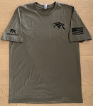 RECONARMS TACTI-SWAG TACTICAL T SEMPER FI MENS SHIRT OD GREEN