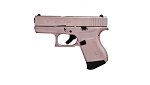 Rose Gold Glock 43 9mm 3.46 Bbl 2/6rnd Mags