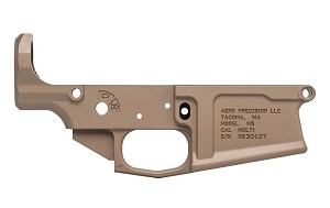 Aero Precision M5 .308 Stripped Lower Receiver- FDE Cerakote