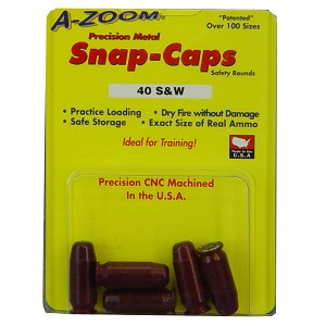 Azoom Snap Caps 40s&w 5/pk