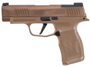 SIG SAUER P365XL NRA LIMITED COLLECTORS EDITION 9MM COYOTE 3.7